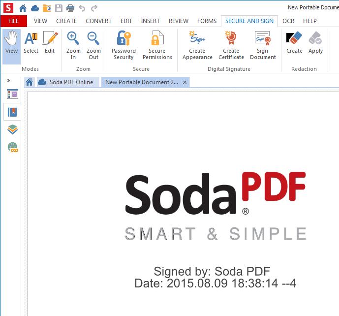 How to Create a Digital Signature – Soda PDF