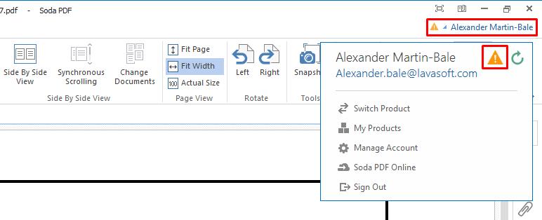 How to Verify my Soda PDF Free Account – Soda PDF