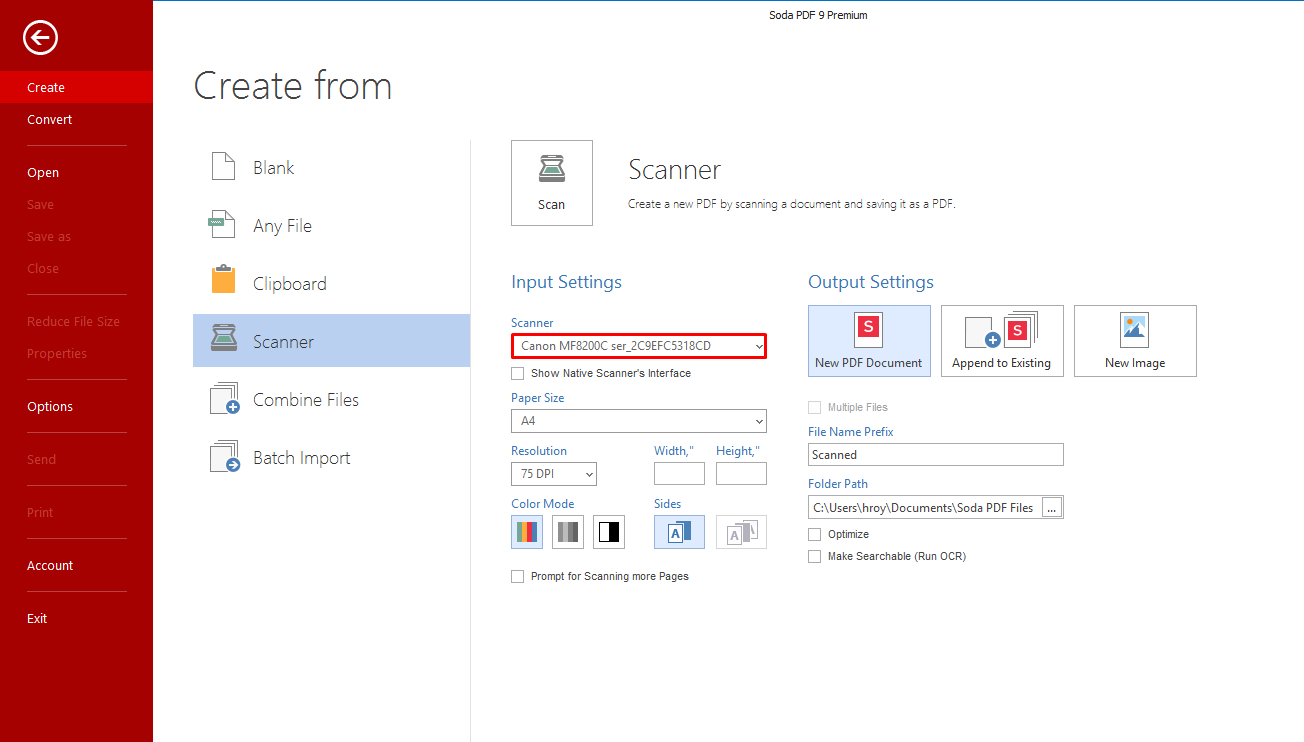 How to Create a PDF File Directly From My Scanner – Soda PDF