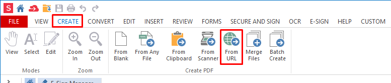 create a url for a pdf