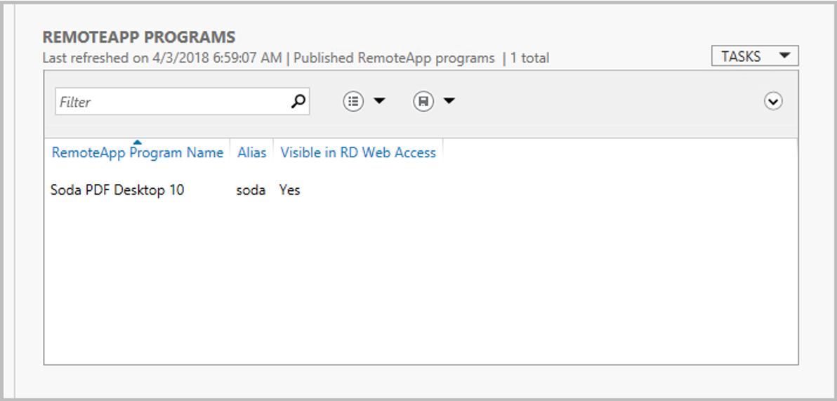 How to Publish and Remove Soda PDF via Terminal Server