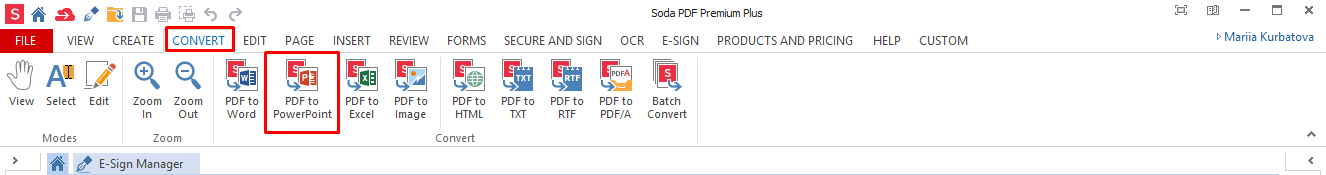 How to Convert from PDF to PowerPoint – Soda PDF